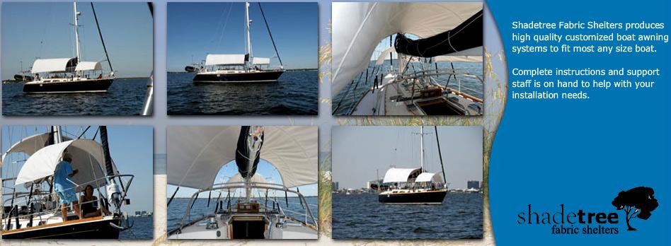 Shadetree Boat Awning Systems | Shadetree Boat Awning Systems